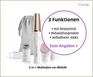 Braun FaceSpa 3in1 Einfache Anwendung