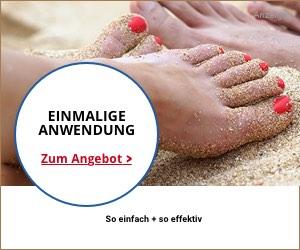 Fußpflege summer foot Anwendung