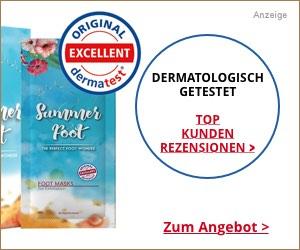 Summer Foot Test Dermatologisch getestet